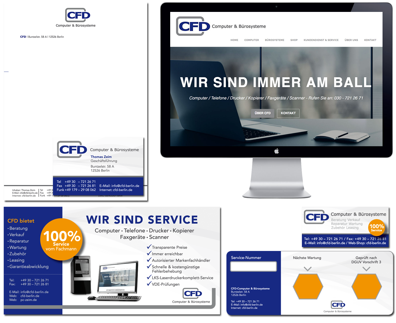 CFD Computer & Bürosysteme - Corporate Design