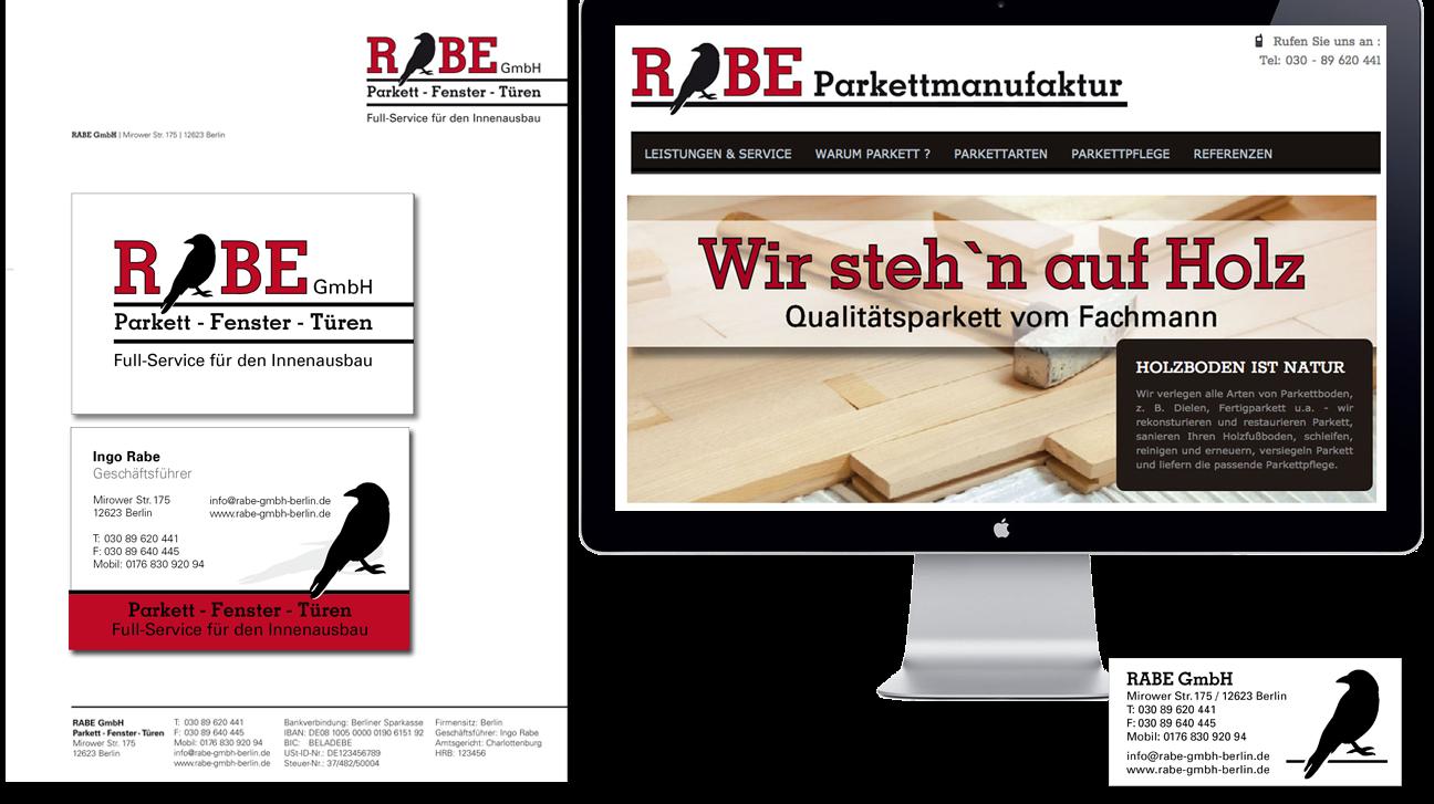 RABE GmbH Parkett, Fenster, Türen
