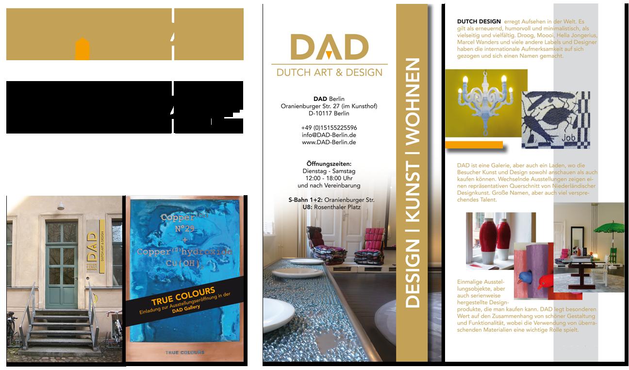 DAD Corporate Design Entwicklung