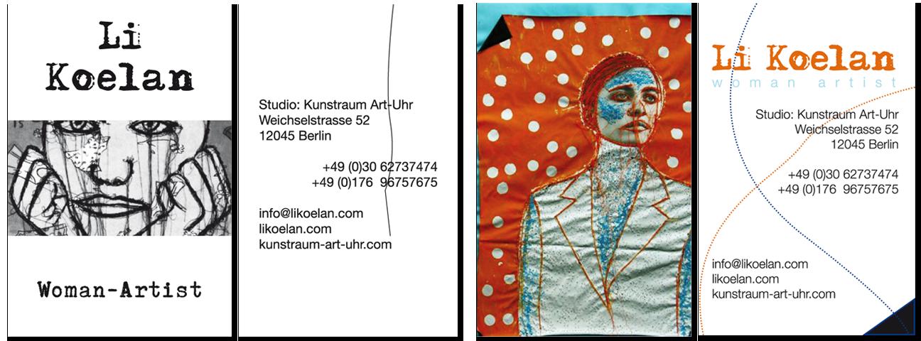 Li Koelan Visitenkarten